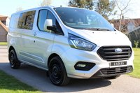 USED 2018 18 FORD TRANSIT CUSTOM 2.0 300 LIMITED P/V L1 H1 129 BHP NO VAT LIMITED WINDOWS WARRANTY PLUS MOT INCLUDED