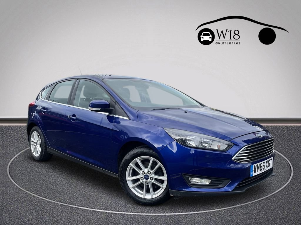 USED 2016 66 FORD FOCUS 1.0 ZETEC 5d 100 BHP