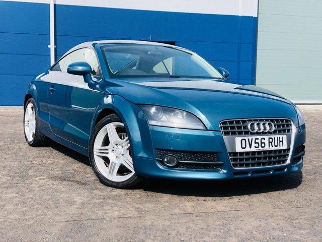 USED 2006 56 AUDI TT 2.0 TFSI AUTOMATIC FSH 12 STAMPS LONG MOT FSH 12 STAMPS MOT MARCH 2022 AUTOMATIC CREAM LEATHER