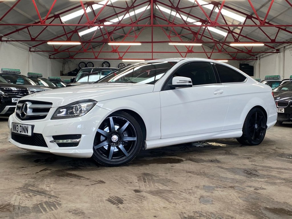 USED 2013 13 MERCEDES-BENZ C-CLASS 2.1 C250 CDI BLUEEFFICIENCY AMG SPORT 2d 204 BHP