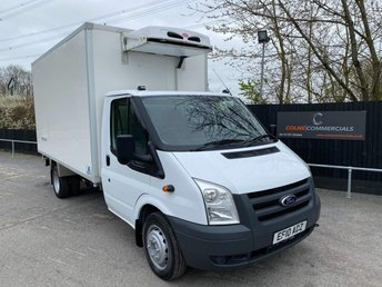 2010 FORD TRANSIT 2.3 T350 Bi-Fuel LPG FRIDGE (PETROL) £9950.00