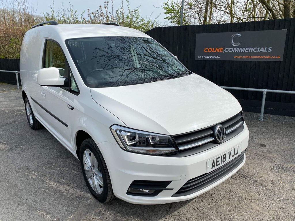 USED 2018 18 VOLKSWAGEN CADDY 2.0 TDI C20 BlueMotion Tech Highline EU6 (s/s) 5dr **EURO 6**150PS**HIGH SPEC**