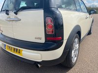 USED 2011 11 MINI CLUBMAN 1.6 ONE 5d 98 BHP