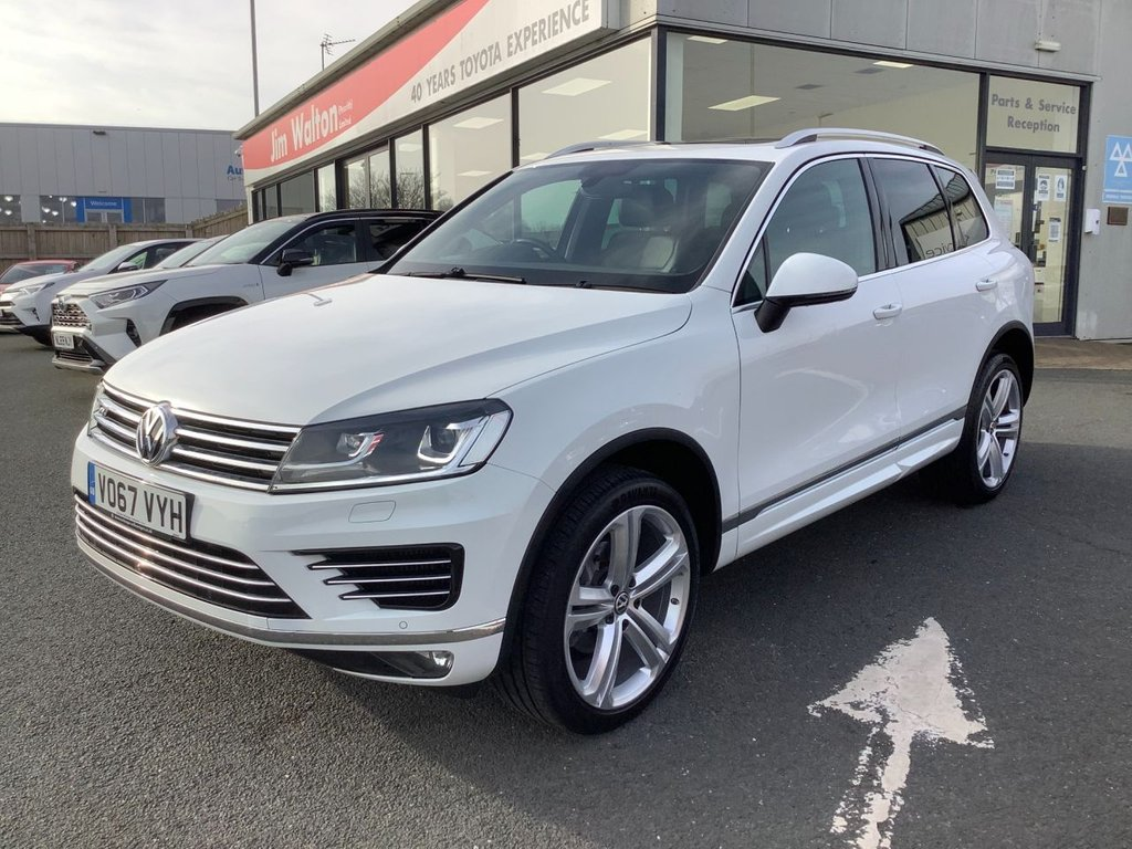 USED 2017 67 VOLKSWAGEN TOUAREG 3.0 V6 R-LINE PLUS TDI BLUEMOTION TECHNOLOGY 5d 259 BHP