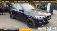 USED 2014 64 BMW X5 3.0 XDRIVE30D M SPORT 5d 255 BHP 7 SEATS, 8 SERVICES, FAB SPEC