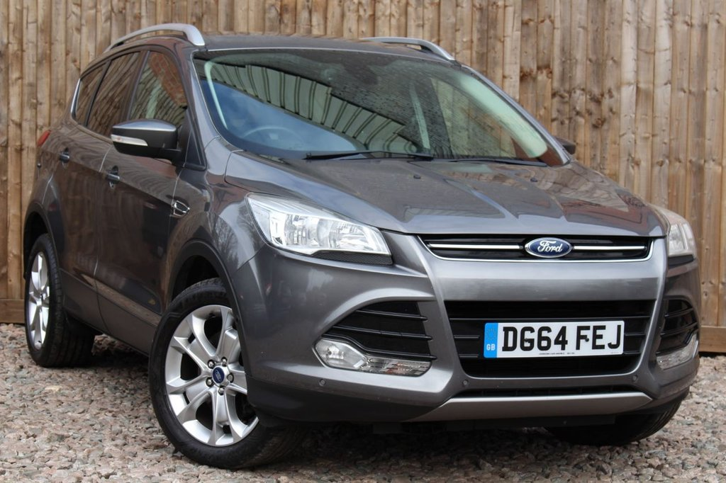 USED 2014 64 FORD KUGA 2.0 TDCi Titanium AWD 5dr £1845 OF FACTORY UPGRADES + 6 MONTH WARRANTY + FULL SERVICE HISTORY + 12 MONTHS MOT