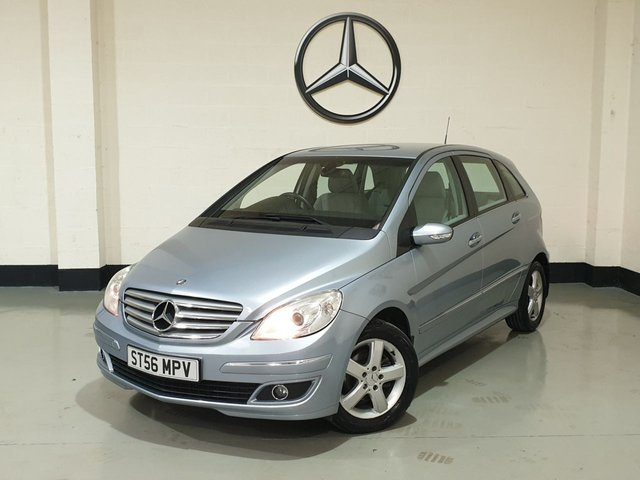 USED 2006 56 MERCEDES-BENZ B-CLASS 1.5 B150 SE 5d 94 BHP Very Low Miles / Tidy Example