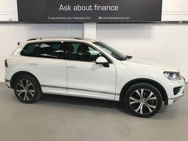 USED 2015 15 VOLKSWAGEN TOUAREG 3.0 V6 R-LINE TDI BLUEMOTION TECHNOLOGY 5d 259 BHP