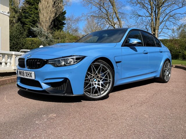 2018 18 BMW M3 3.0L M3 COMPETITION PACKAGE 4d 444 BHP
