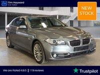 USED 2013 63 BMW 5 SERIES 3.0 535D LUXURY 4d 309 BHP