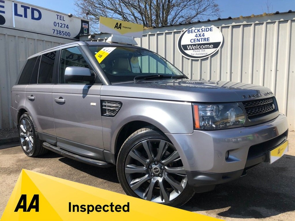 USED 2012 12 LAND ROVER RANGE ROVER SPORT 3.0 SDV6 HSE 5d 255 BHP AA INSPECTED. FINANCE. WARRANTY. HIGH SPEC.