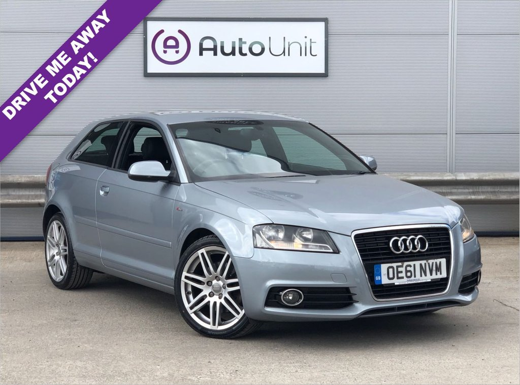 USED 2012 61 AUDI A3 2.0 TDI S LINE S/S 3d 168 BHP DUAL CLIMATE | HALF LEATHER SPORTS SEATS | CRUISE CONTROL | PADDLE SHIFTERS