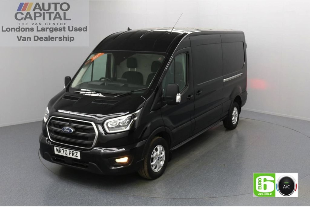 USED 2020 70 FORD TRANSIT 2.0 350 FWD Limited EcoBlue Auto 130 BHP L3 H2 Low Emission Automatic Gearbox | Eco Mode | Auto Start-Stop | Front and rear parking distance sensors