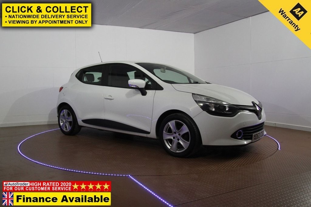 USED 2014 63 RENAULT CLIO 1.5 EXPRESSION PLUS ENERGY DCI S/S 5d 90 BHP