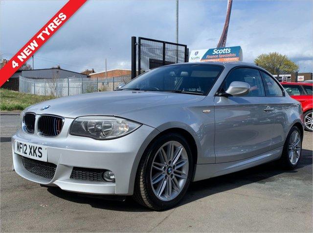 USED 2012 12 BMW 1 SERIES 2.0 120D M SPORT 2 DOOR COUPE DIESEL SILVER 2 KEYS APRIL 2022 MOT
