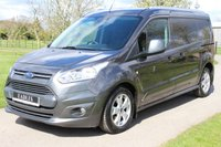 USED 2018 18 FORD TRANSIT CONNECT 1.5 240 LIMITED P/V 118 BHP AUTOMATIC LONG WHEEL BASE LIMITED REVERSE CAMERA + TWIN SIDE DOORS