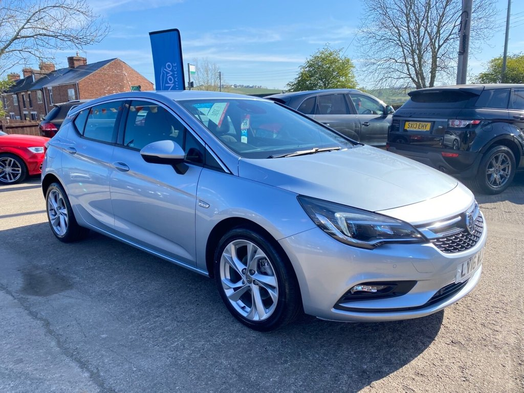 USED 2016 16 VAUXHALL ASTRA 1.4T 16V 150 SRi 5dr * PARKING AID * BLUETOOTH *DAB * EXCELLENT VALUE *