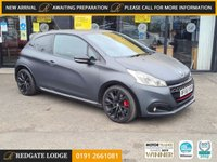 USED 2016 66 PEUGEOT 208 1.6 THP GTI SPORT 3d 208 BHP SAT/NAV, LEATHER, 5 SERVICES