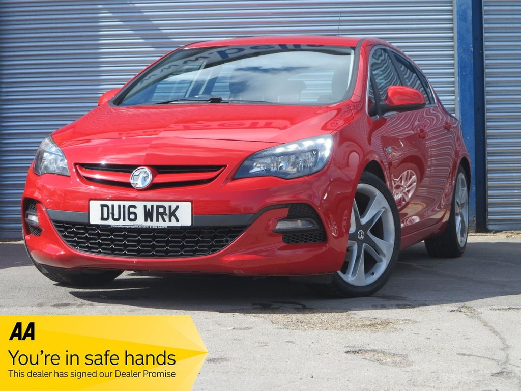 USED 2016 16 VAUXHALL ASTRA 1.6 LIMITED EDITION 5d 115 BHP