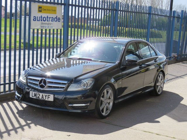 USED 2012 12 MERCEDES-BENZ C-CLASS 2.1 C220 CDI BLUEEFFICIENCY SPORT 4dr Sat Nav Prep 1/2 Leather Cruise Xenons Climate Sat Nav Prep-1/2 Leather- AUTOMATIC- Front and Rear Sensors