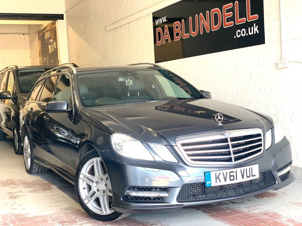 USED 2011 61 MERCEDES-BENZ E-CLASS 3.0 E350 CDI BLUEEFFICIENCY SPORT ED125 5d 265 BHP SAT NAV+LEATHER+H.SEATS+XENONS