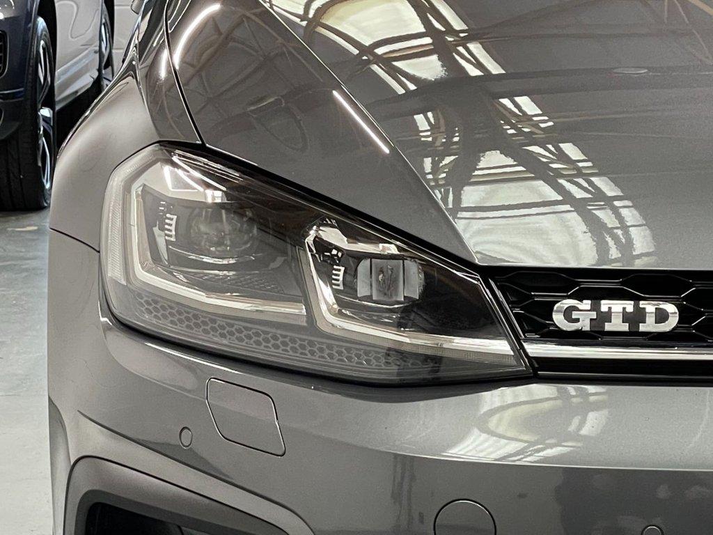USED 2017 17 VOLKSWAGEN GOLF 2.0 TDI BlueMotion Tech GTD DSG (s/s) 5dr