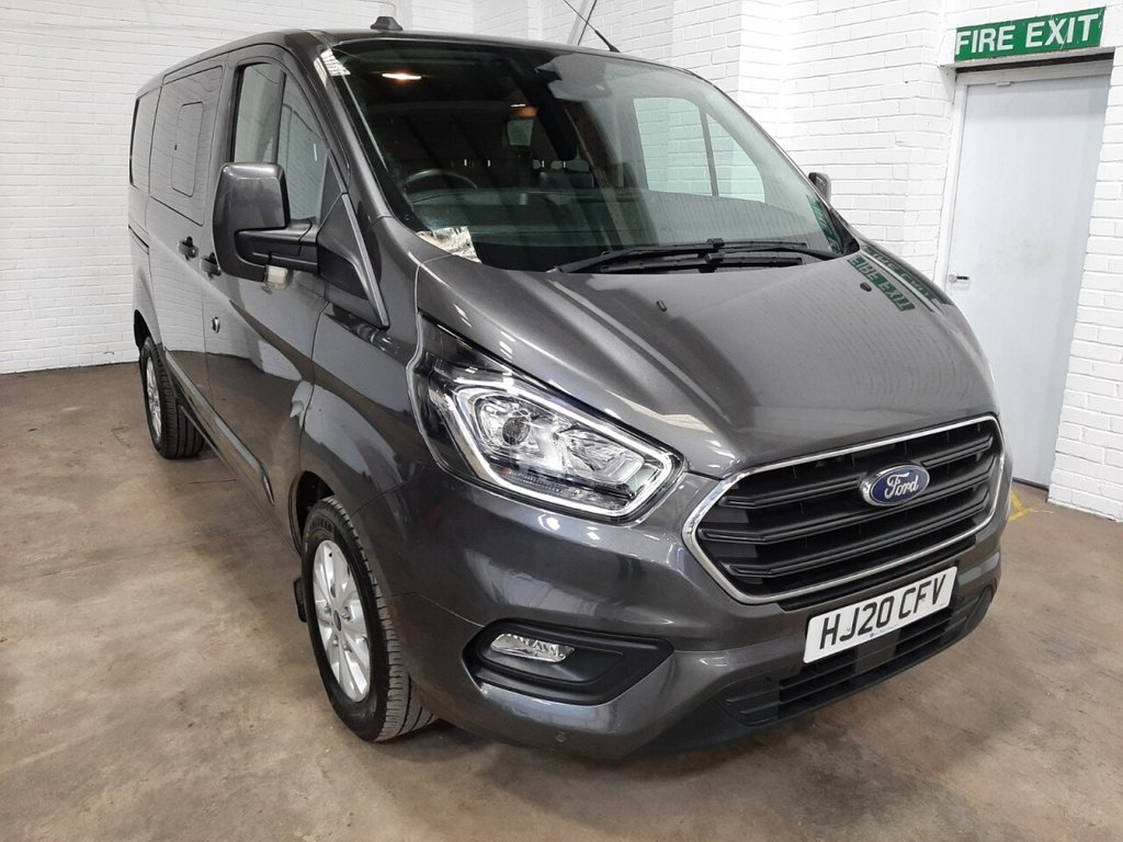USED 2020 20 FORD TRANSIT CUSTOM DCIV 300 L1 H1 Limited 130ps