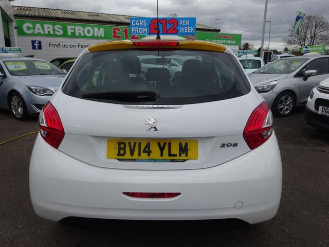USED 2014 14 PEUGEOT 208 1.2 ACTIVE 5d 82 BHP **  JUST ARRIVED ** CALL 01543 877320**