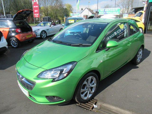 USED 2015 64 VAUXHALL CORSA 1.4 EXCITE AC ECOFLEX 3d 89 BHP ** 01543 379066  ** JUST ARRIVED ** TEST DRIVE TODAY