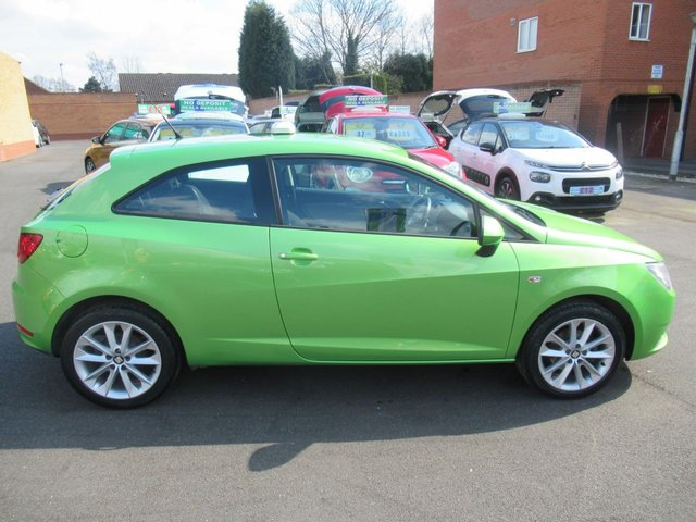 USED 2014 64 SEAT IBIZA 1.4 TOCA 3d 85 BHP ** 01543 454566 ** JUST ARRIVED ** TEST DRIVE TODAY