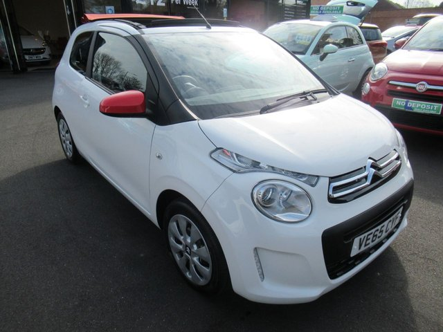 USED 2016 65 CITROEN C1 1.0 AIRSCAPE FEEL 3d 68 BHP ** TEST DRIVE TODAY **
