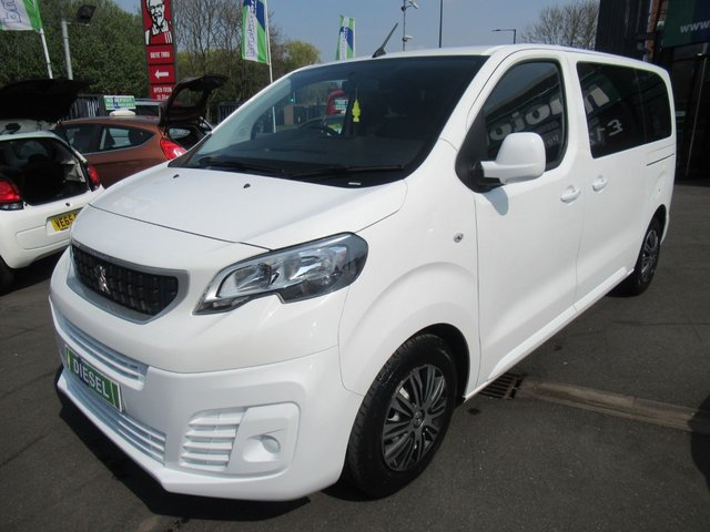 USED 2017 67 PEUGEOT EXPERT 1.6 BLUE HDI COMBI STANDARD 5d 95 BHP * JUST ARRIVED ** **DIESEL AUTOMATIC