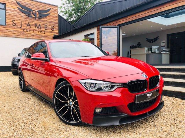2017 67 BMW 3 SERIES 2.0 320D M SPORT 4d AUTO 188 BHP