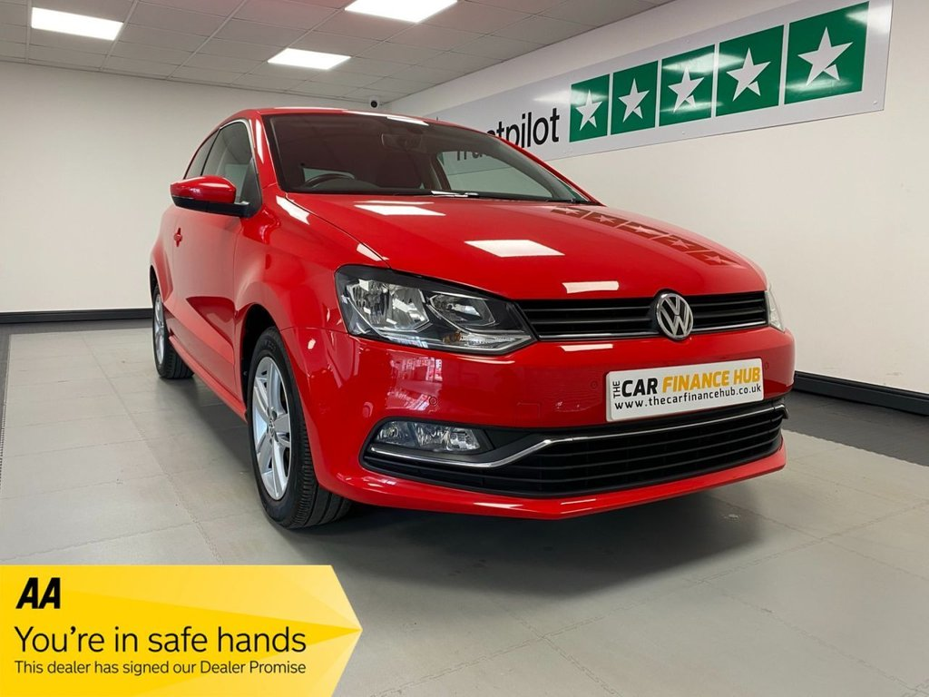 USED 2017 17 VOLKSWAGEN POLO 1.0 MATCH EDITION 3d 74 BHP