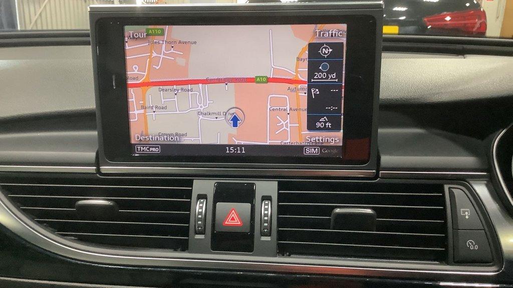 USED 2017 67 AUDI A6 2.0 AVANT TDI QUATTRO BLACK EDITION 5d 188 BHP