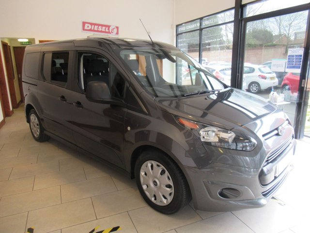USED 2017 67 FORD GRAND TOURNEO CONNECT 1.5 ZETEC TDCI 5d 99 BHP * JUST ARRIVED DIESEL 7 SEATER MPV *