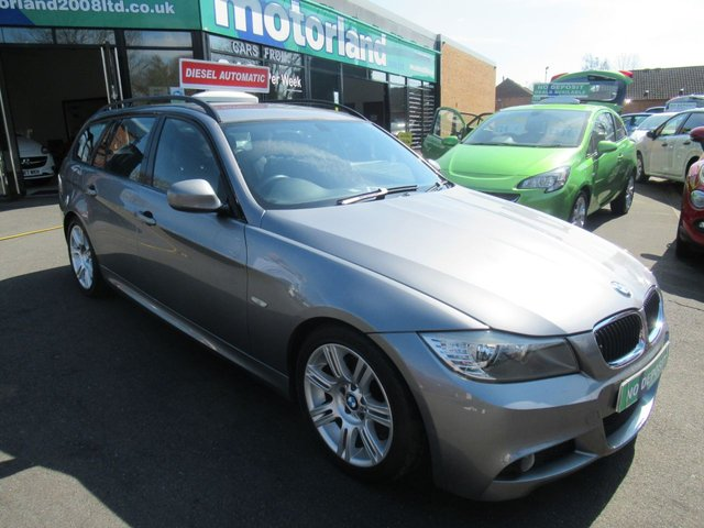 USED 2009 09 BMW 3 SERIES 2.0 318D M SPORT TOURING 5d 141 BHP M SPORT- AUTO DIESEL ESTATE JUST ARRIVED