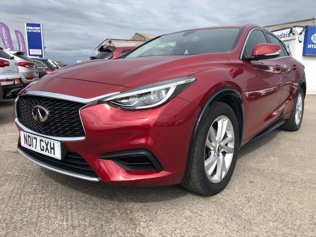 USED 2017 17 INFINITI Q30 1.6 T SE 5d 121 BHP FINANCE ARRANGED**PART EXCHANGE WELCOME**6 SPEED*BLUETOOTH PHONE & AUDIO*CD*USB*REAR P SENSORS*AUTO S/S*VOICE COMMAND