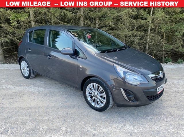 USED 2014 64 VAUXHALL CORSA 1.2 SE 5d 83 BHP LOW MILEAGE  -- LOW INS GROUP -- SERVICE HISTORY