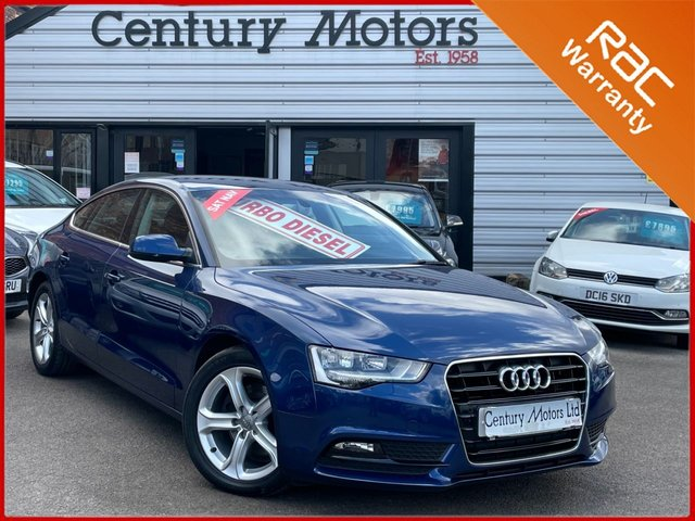 2013 63 AUDI A5 2.0 TDI Sportback SE TECHNIK 5dr - LEATHER
