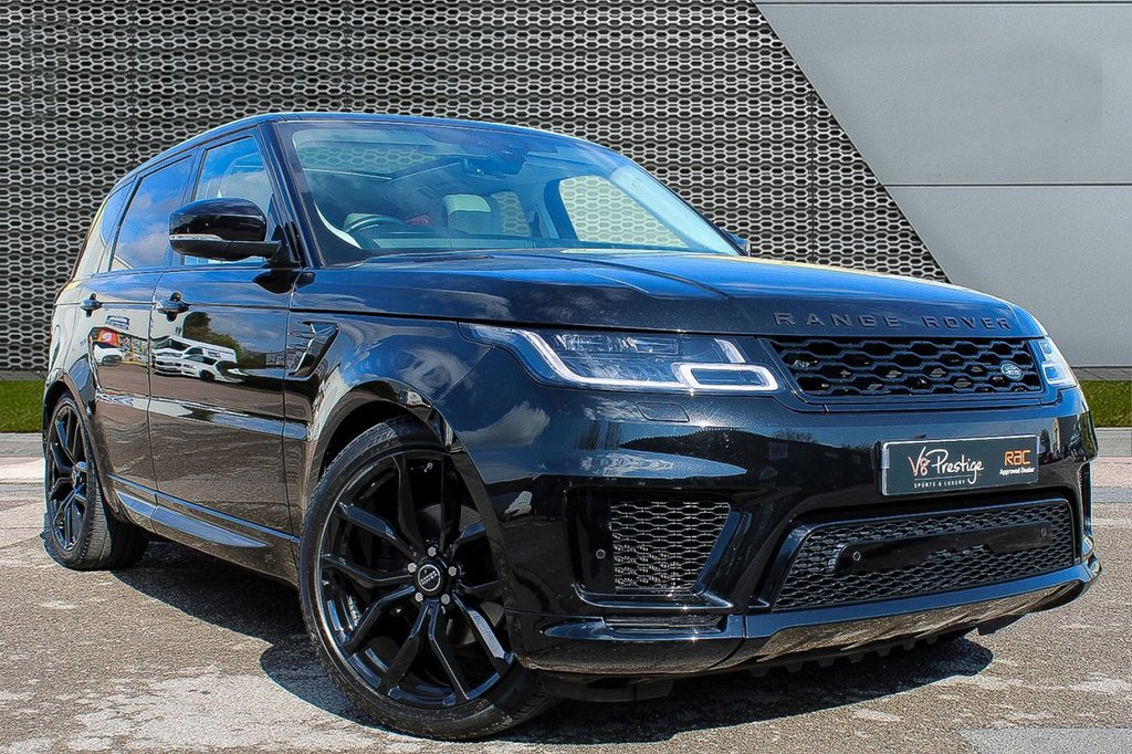 """USED 2018 18 LAND ROVER RANGE ROVER SPORT 3.0 SDV6 HSE 5d 306 BHP **STEALTH PACK/22"""" ALLOYS/P-ROOF**"""