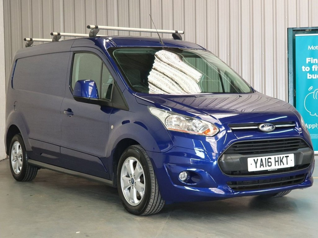 USED 2016 16 FORD TRANSIT CONNECT 1.6 240 LIMITED P/V 114 BHP