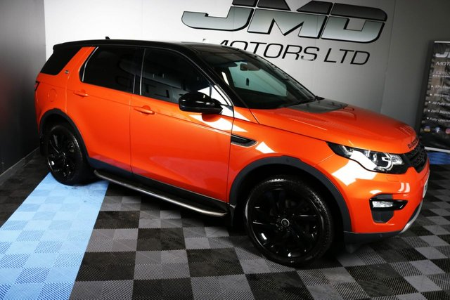USED 2015 15 LAND ROVER DISCOVERY SPORT 2015 LAND ROVER DISCOVERY SPORT 2.2 SD4 HSE BLACK PACK AUTO 190 BHP ( FINANCE & WARRANTY)