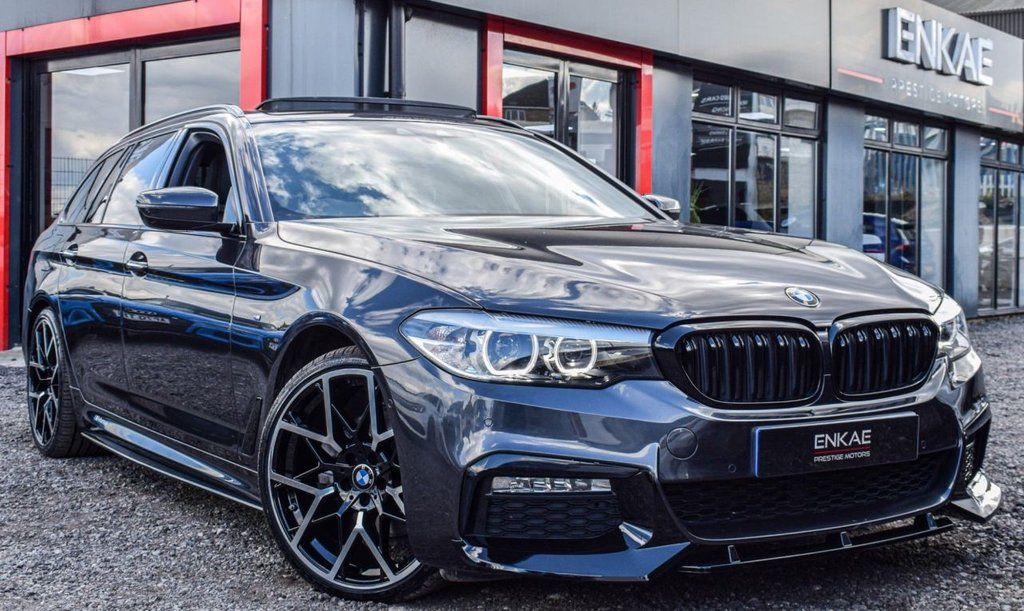 USED 2018 18 BMW 5 SERIES 2.0 520D M SPORT TOURING 5d 188 BHP