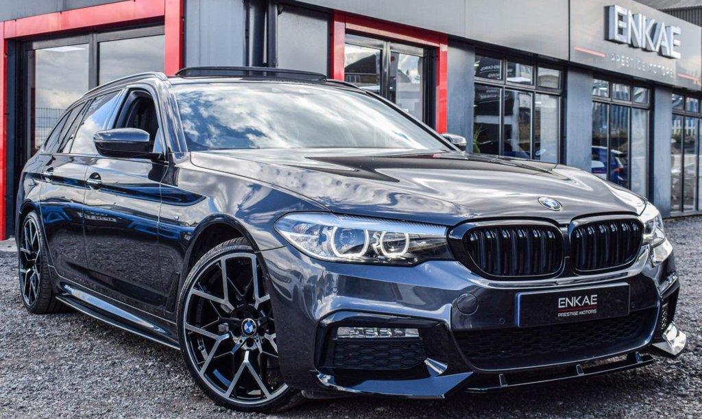 USED 2018 18 BMW 5 SERIES 2.0 520D M SPORT TOURING 5d 188 BHP