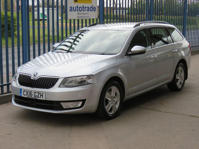 USED 2016 16 SKODA OCTAVIA 1.6 SE TECHNOLOGY TDI 5d 109 BHP ZERO ROAD TAX, SAT NAV FRONT AND REAR SENSORS SAT NAV-DAB- BLUETOOTH-CRUISE-1 OWNER-FRONT+REAR PARKING SENSORS