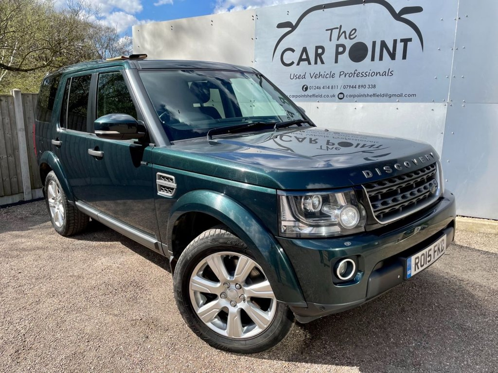 USED 2015 15 LAND ROVER DISCOVERY 3.0 SDV6 COMMERCIAL XS 255 BHP