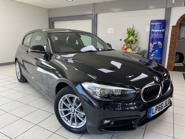 USED 2017 66 BMW 1 SERIES 1.5 116D SE 3d 114 BHP