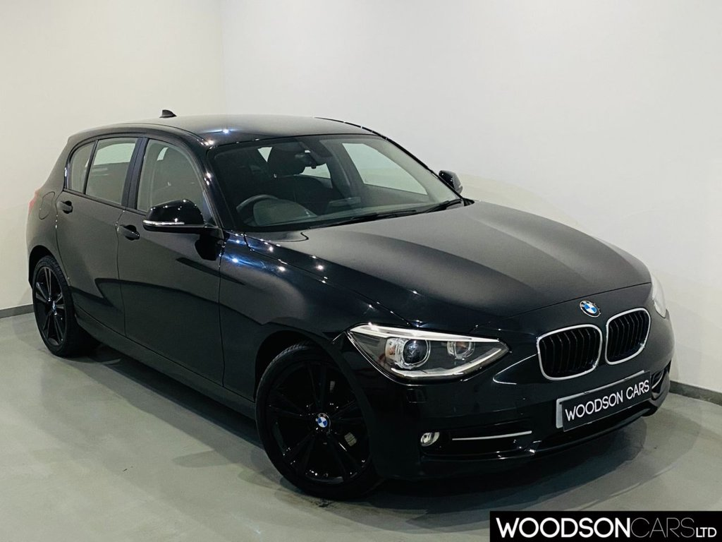 USED 2014 14 BMW 1 SERIES 2.0 116D SPORT 5d 114 BHP 1 Owner / Sat Nav / Bluetooth / Parking Sensors