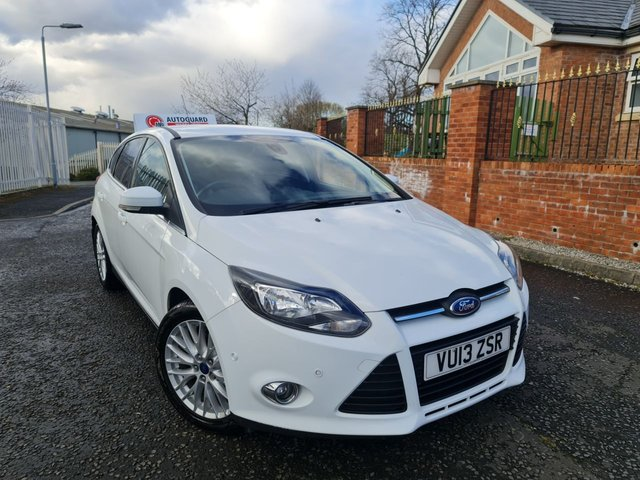 USED 2013 13 FORD FOCUS 1.0 ZETEC 5d 99 BHP A GREAT ECONOMICAL VEHICLE